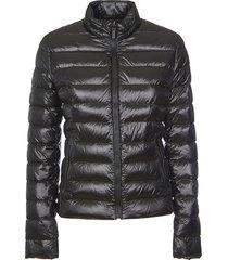 hogan zip padded jacket