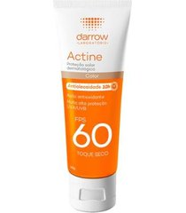 actine protetor solar fps 60 com cor darrow universal