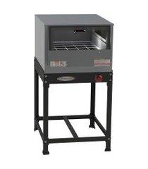 forno industrial à gás com cavalete 91l baixa pressão itajobi