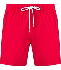 eleventy classic swim shorts - red
