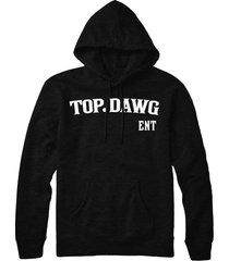 kendrick lamar ent kdot tde top dog  hip hop pull over hoodie