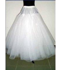 white multilayer wedding bridal crinoline petticoat underskirt