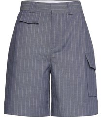 shorts bermudashorts shorts blauw ganni
