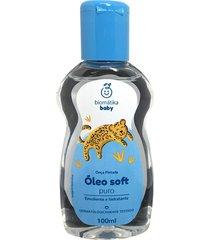 óleo soft baby pele suave loção perfumada biomátika 100ml