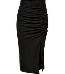 kjol onlnella slit skirt jrs