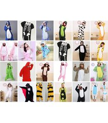 new kigurumi pajamas anime cosplay costume unisex adult onesies dress sleepwear