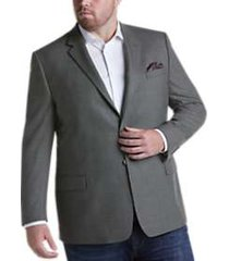 pronto uomo platinum executive fit sport coat gray check