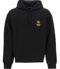 dolce & gabbana sweatshirt with hoodie