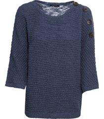 maglione con bottoni (blu) - bodyflirt