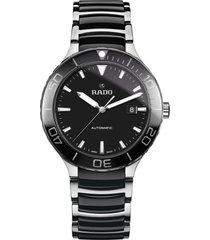 men's rado centrix automatic bracelet watch, 42mm