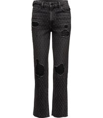 cult net grey aged raka jeans grå t by alexander wang
