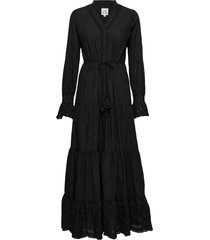 darling lace maxi dress galajurk zwart line of oslo