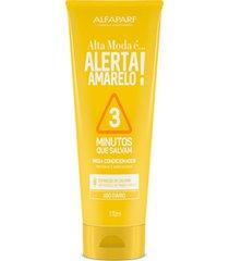 alta moda alerta amarelo! 3 minutos que salvam mega condicionador 170ml