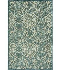 "kaleen a breath of fresh air fsr102-17 blue 5' x 7'6"" area rug"