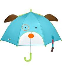 guarda chuva cachorro skip hop azul