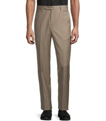 david classic-fit wool pants