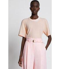 proenza schouler eco cotton t-shirt pink xl