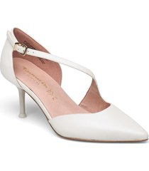 woms slip-on shoes heels pumps classic vit tamaris heart & sole