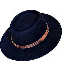 sombrero fieltro ecuestre negro talla s viva felicia