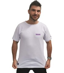 camiseta cellos box logo premium branco - branco - masculino - dafiti