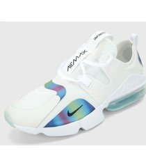 tenis lifestyle blanco-multicolor nike air max infinity summy