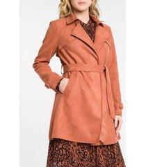 casaco feminino camurça - 38