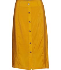 ariennegz skirt hs19 knälång kjol gul gestuz