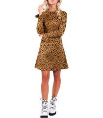jacquard leo dress