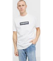 napapijri sase ss 1 t-shirts & linnen bright white