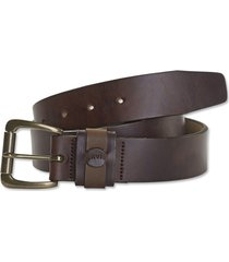 orvis heritage leather belt, brown, 36