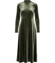 orieliw dress maxi dress galajurk groen inwear