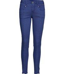 amalie twill - katy fit skinny jeans blå cream