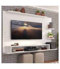 painel para tv até 65 polegadas madesa alfa branco xa2105091