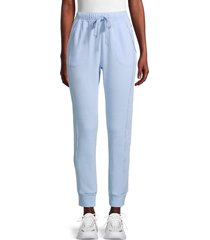 free people movement women's work it out jogger pants - aurora blue - size m