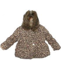 casaco doudone oncinha