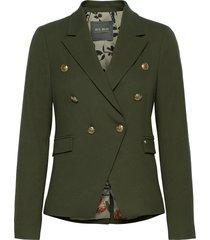beliz twiggy blazer sustainable blazers business blazers grön mos mosh