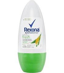 desodorante antitranspirante roll-on rexona bamboo 50ml