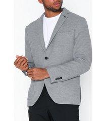selected homme slhslim-hiken blazer b noos kavajer & kostymer ljus grå