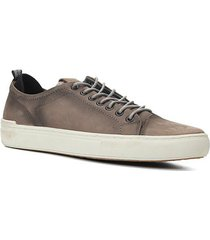 sapatênis couro shoestock stoned masculino - masculino