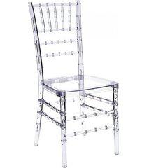 krzesło transparentne sisi
