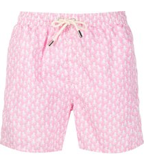mc2 saint barth octopus swim shorts - pink