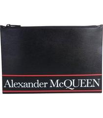 alexander mcqueen pouch with logo