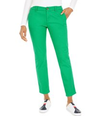 tommy hilfiger th flex cuffed chino straight-leg pants, created for macy's
