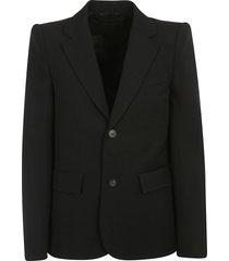 balenciaga curved shoulder jacket