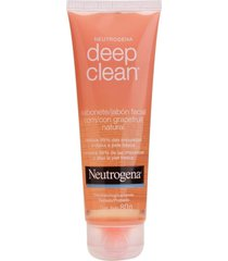 sabonete facial neutrogena deep clean gel grapefruit 150g - kanui