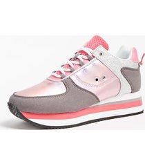 sneakersy z ozdobnymi wstawkami model lily (35-38)