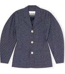 blazer pin stripe
