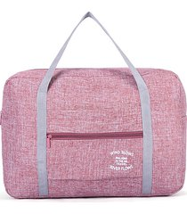 impermeabile viaggio di grande capacità borsa stoccaggio borsa per le donne