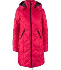 cappotto metallizzato trapuntato (rosso) - bpc bonprix collection