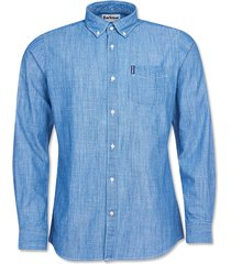 barbour chambray 1 tailored shirt / barbour chambray 1 tailored shirt, xx large